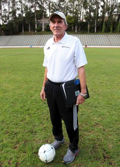 Head Women's Soccer Coach Jack Hyde was instrumental in adding women's soccer at SF State in 1982 and has been the head coach for its entire 29 year existence. Ryan Leibrich/Xpress.
