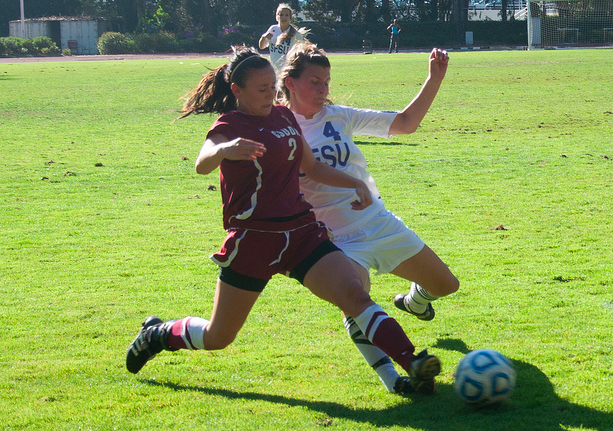 Women's soccer team forced to overcome frustrating loss to Dominguez Hills