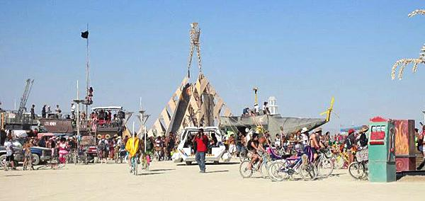VIDEO: Burning Man a melting pot for creativity, kindness