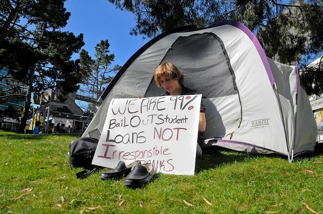Occupy SFSU protesters camping in front of student center dispersed by police