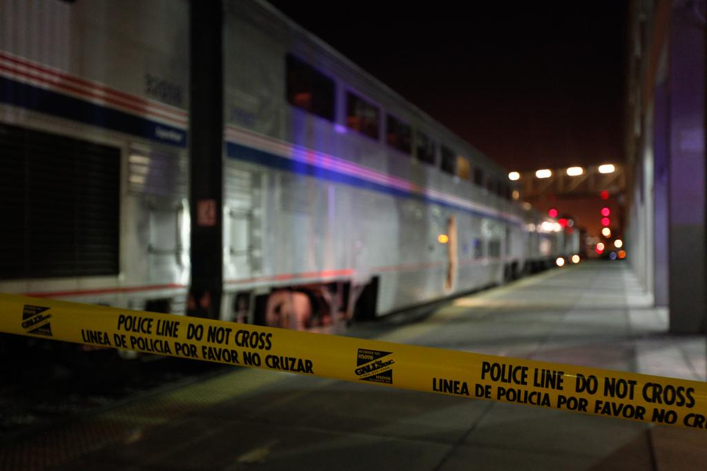 PHOTOS: Amtrak collision at Oakland station leaves passengers stranded