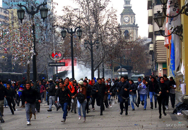SF+State+student+studying+in+Chile+caught+in+middle+of+violent+protest