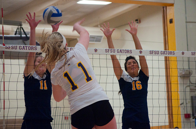SF State volleyball bested by UC San Diego despite strong performance