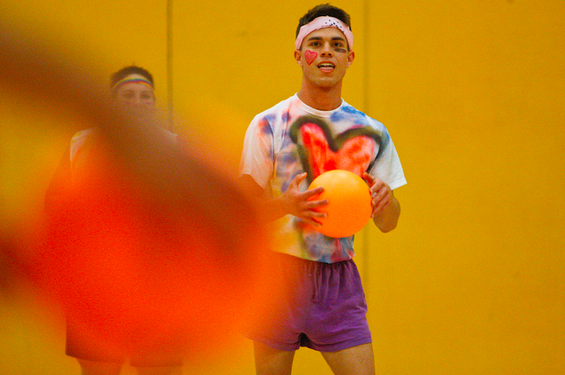 VIDEO: Balls to the wall: SF State hosts costume dodgeball tournament