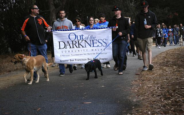 Out of the Darkness Community Walks highlights suicide prevention awareness