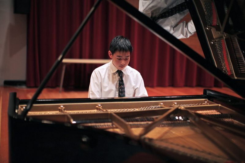 15-year-old pianist wins first in SF State professor's competition