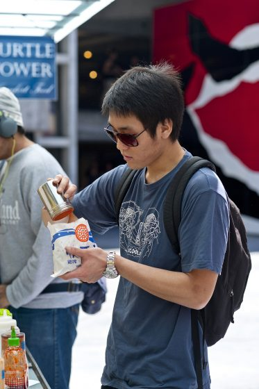 Hungry students grub at new campus eateries