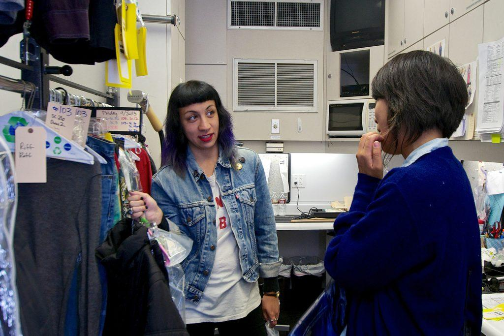 Cinema grad preps costumes for Fruitvale Station film