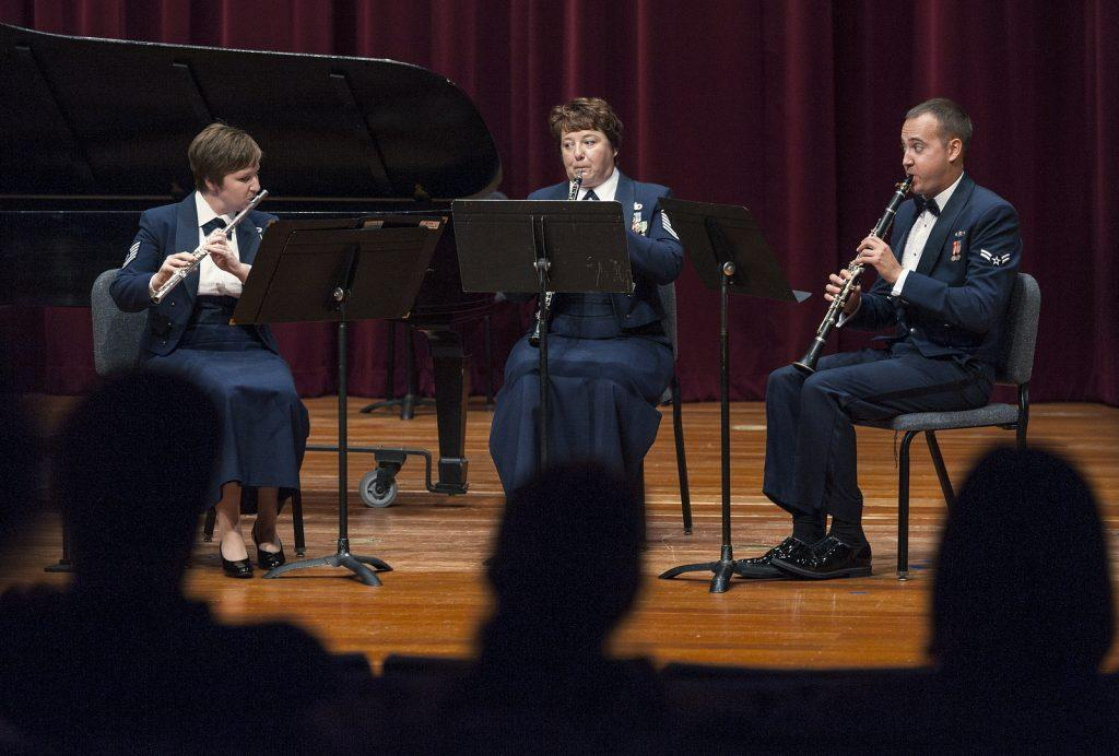 US+Air+Force+band+plays+chamber+recital+in+Knuth+Hall