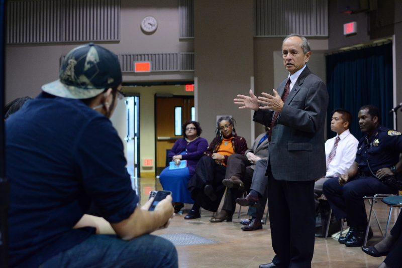 Taser concern dominates discussion at campus safety forum