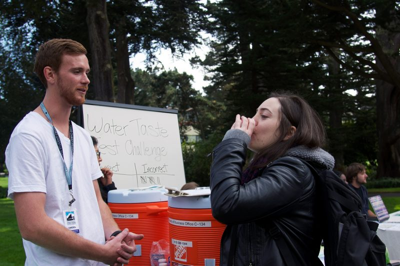 Ban the bottle movement uncaps at SF State