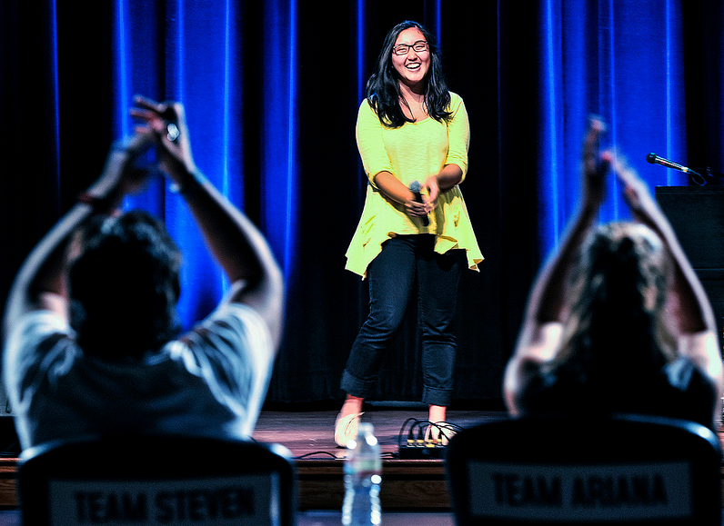 SF States Voice competition begins with blind auditions