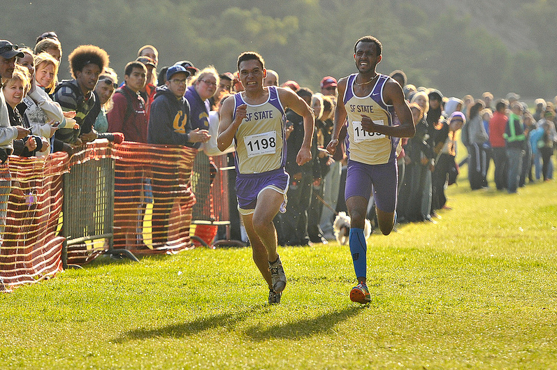 Cross-country+Gators+place+second+overall+in+annual+SF+State+Invitational