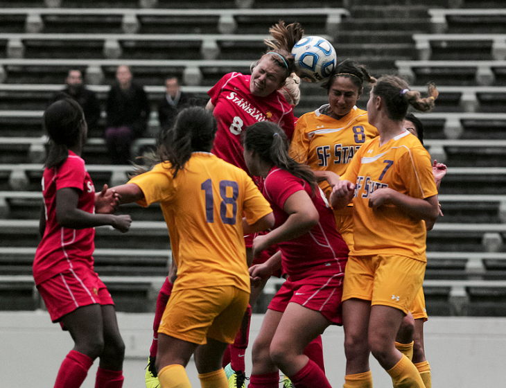 Women's soccer in playoff contention despite loss