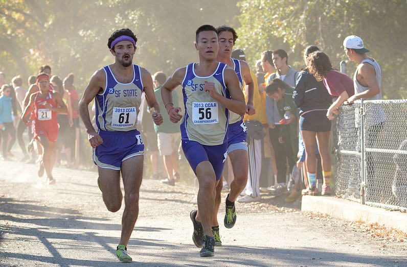 Cross-country has small victories despite illnesses during CCAA meet