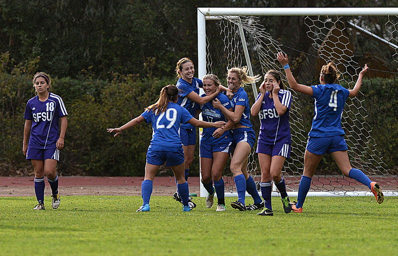 Women's soccer team comes up short for final regular season game
