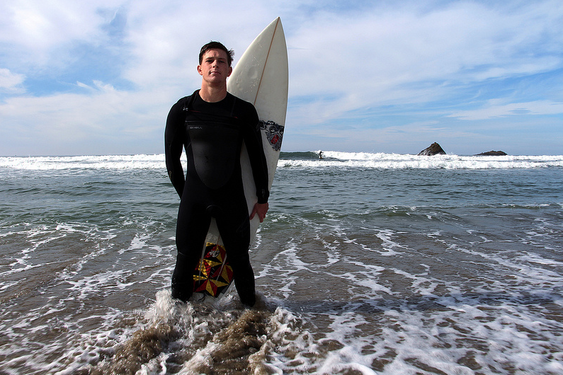 Pro surfer student heads to Mavericks Invitational surfing competition