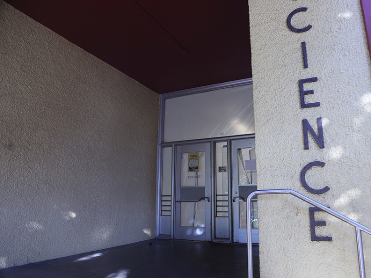 The Science Building is officially closed for the Spring 2014 semester. Photo by Rachel Aston / Xpress
