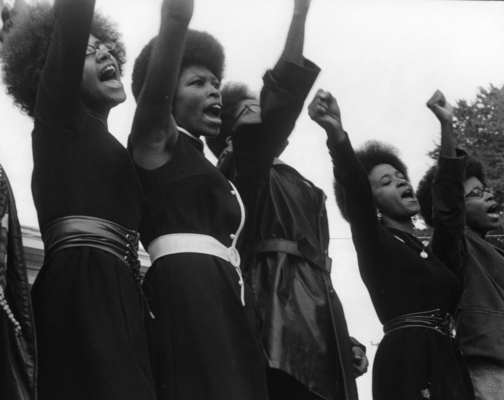 Black Panther Party and Haight-Ashbury photo collections show 1960s civil rights movement at campus art gallery