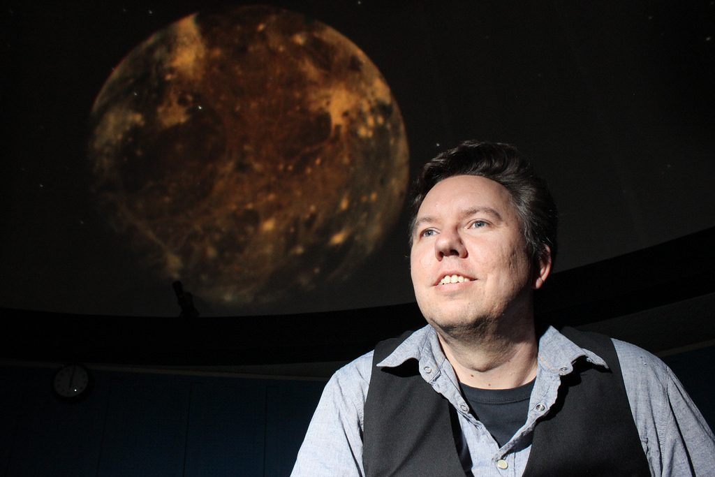Astronomy professor discovers planet outside Solar System