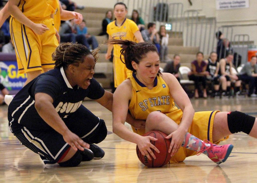 Cal State Monterey Bay defeats women's basketball team in final regular season game