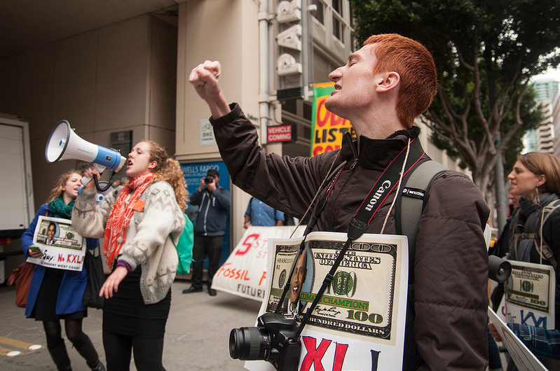 Bay Area students join the fight against the Keystone Pipeline (VIDEO)