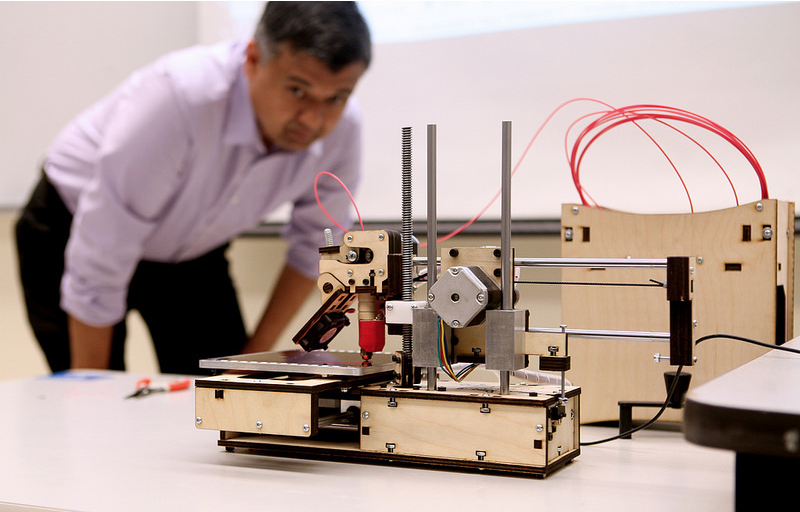 College of Business invests in 3D printer technology (VIDEO)