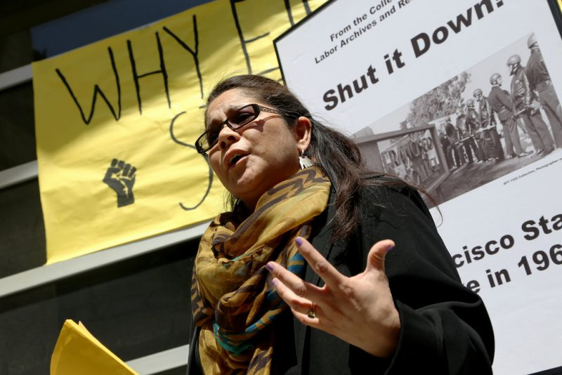 Ethnic studies cutbacks protested in campus rally