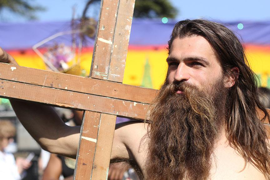 Hunky Jesus Competition hits Golden Gate Park for 35th annual celebration