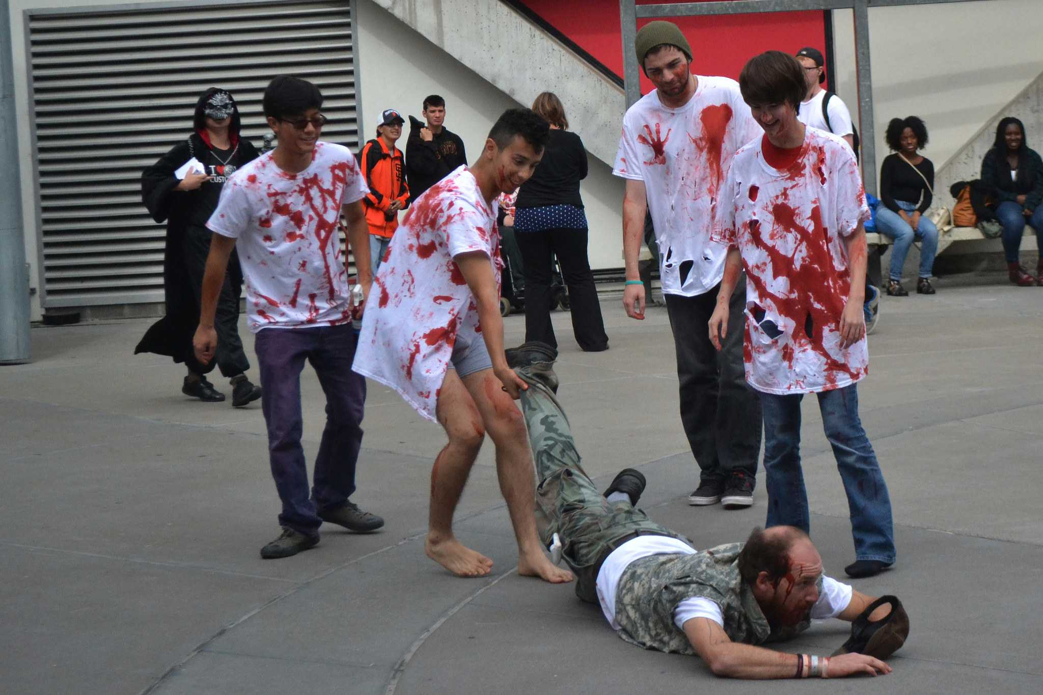Annual Great California Shakeout and Zombie Nation team up for earthquake awareness