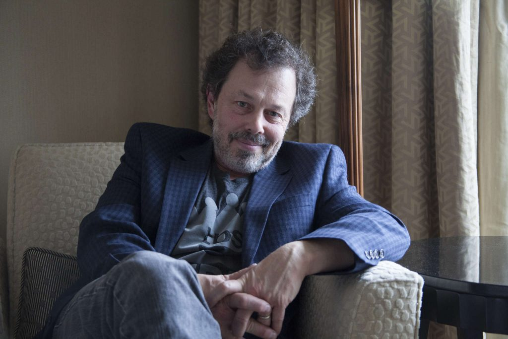 Actor Curtis Armstrong sits for a portrait at the Four Seasons Hotel in San Francisco Friday, Jan. 16.   Frank Ladra/Xpress