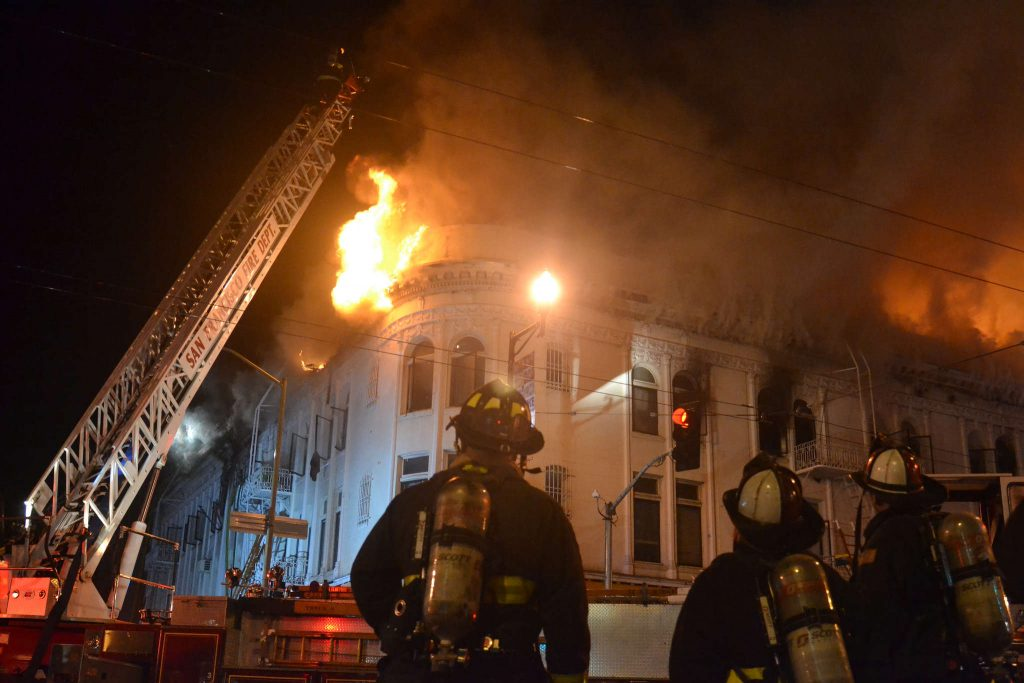 A+four+alarm+fire+broke+out+at+approximately+6%3A50+pm+on+the+evening+of+Jan.+28+at+the+intersection+of+22nd+and+Mission+Street.+Twelve+people+were+rescued+from+the+blaze%2C+which+claimed+the+life+of+one+man+and+hospitalized+four.+Fire+Chief+Joanne+Hayes-White+said+that+firefighters+had+%E2%80%9CKnocked+on+every+door%E2%80%9D+of+the+building+just+before+the+fourth+alarm+sounded%2C+and+they+were+forced+to+evacuate.+%0A%0A