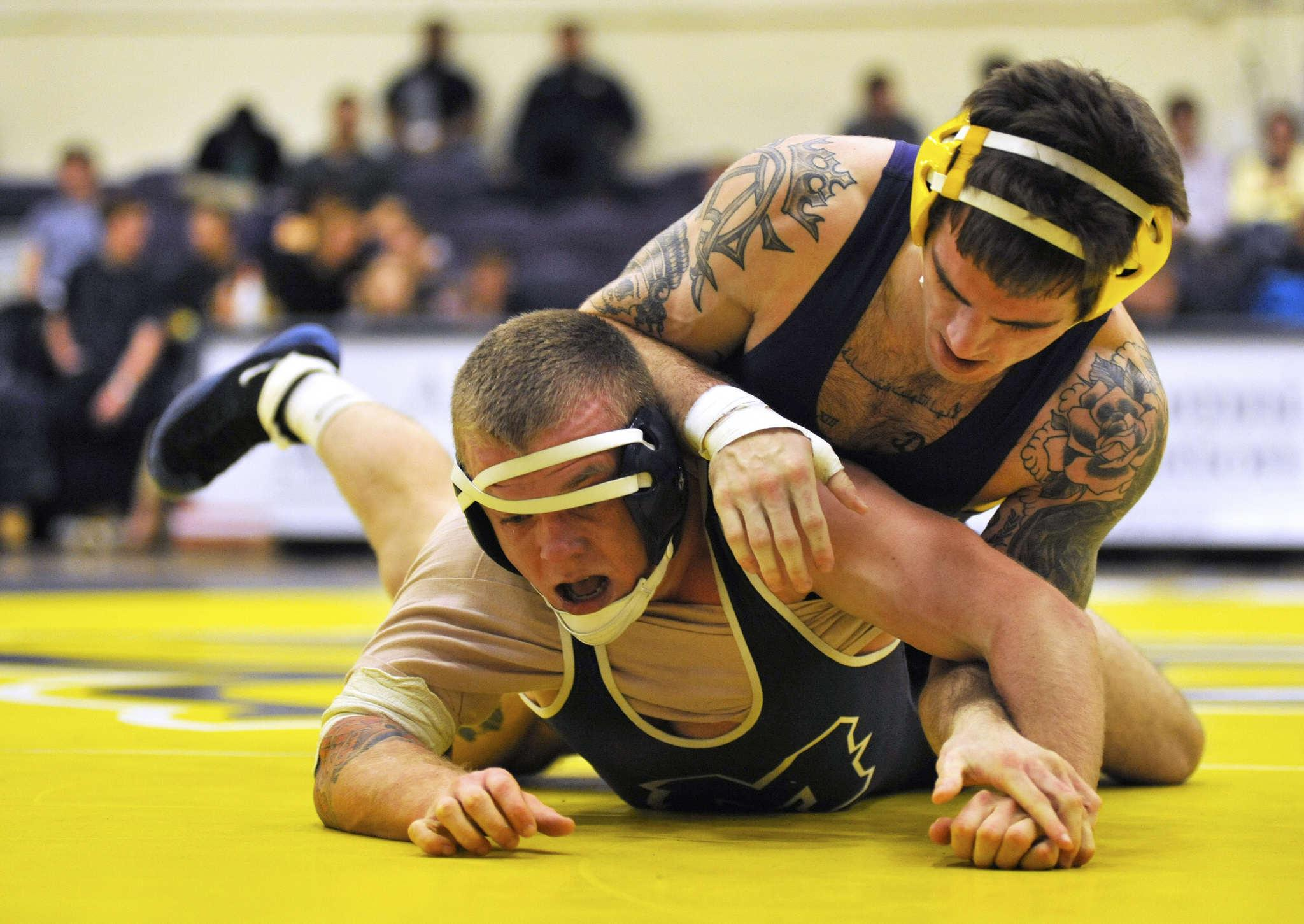 Emotions run high for wrestling senior night