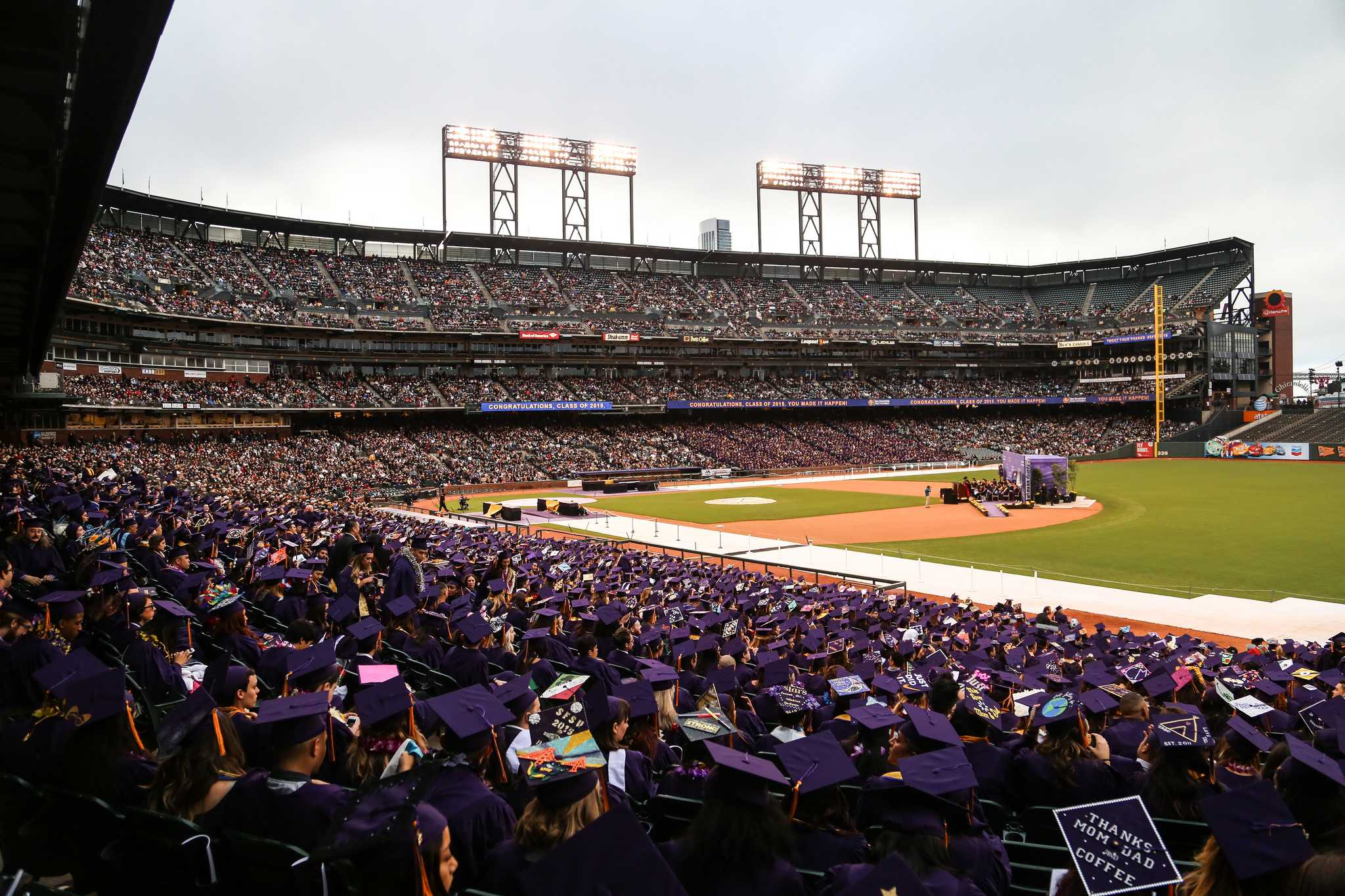 SF State's 114th Commencement Ceremony at AT&T Park