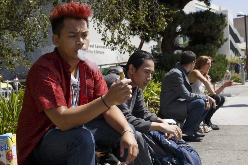Updated policy bans vaping on campus
