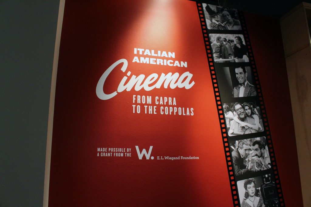 Italian American Cinema: From Capra to the Coppolas written and curated by SF State professor Joseph McBride at The Museo Italian American Cultural Center, in San Francisco Wednesday, Sept 26. (James Chan / Xpress)