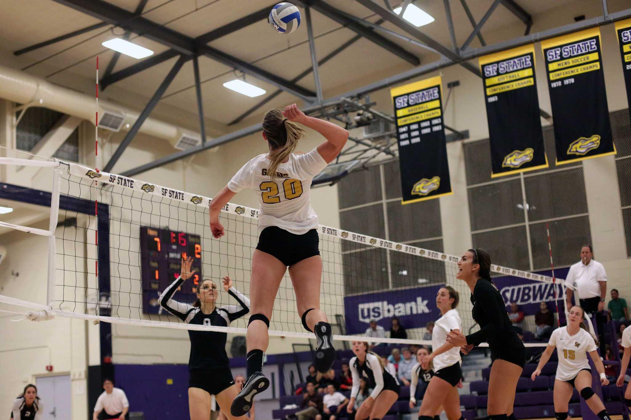 Gators volleyball falls just short in dramatic five set match