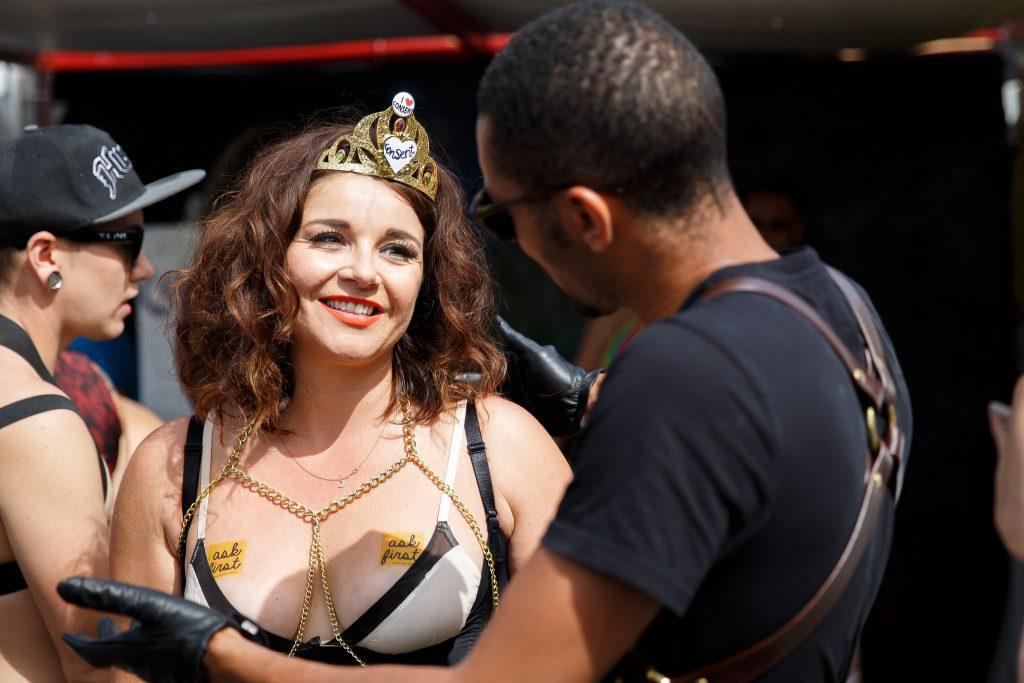 Ask First campaign educates BDSM kinksters about consent at Folsom Street Fair