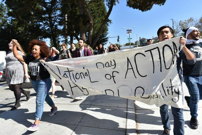 National day of action prompts SF State student rally