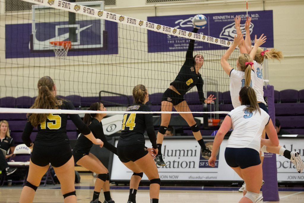 Grind-out comeback not enough for SF State volleyball