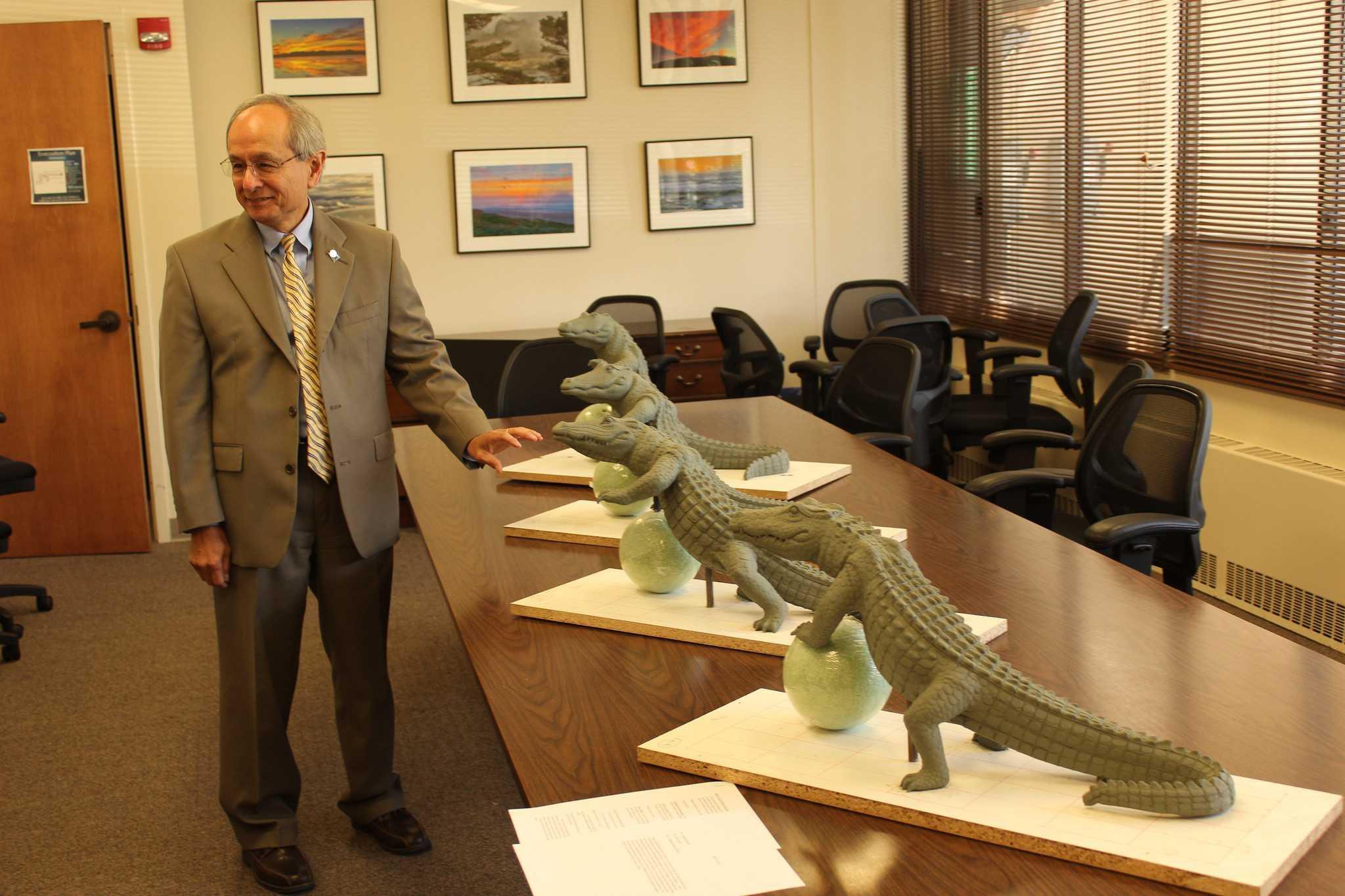 New statue to spark student spirit