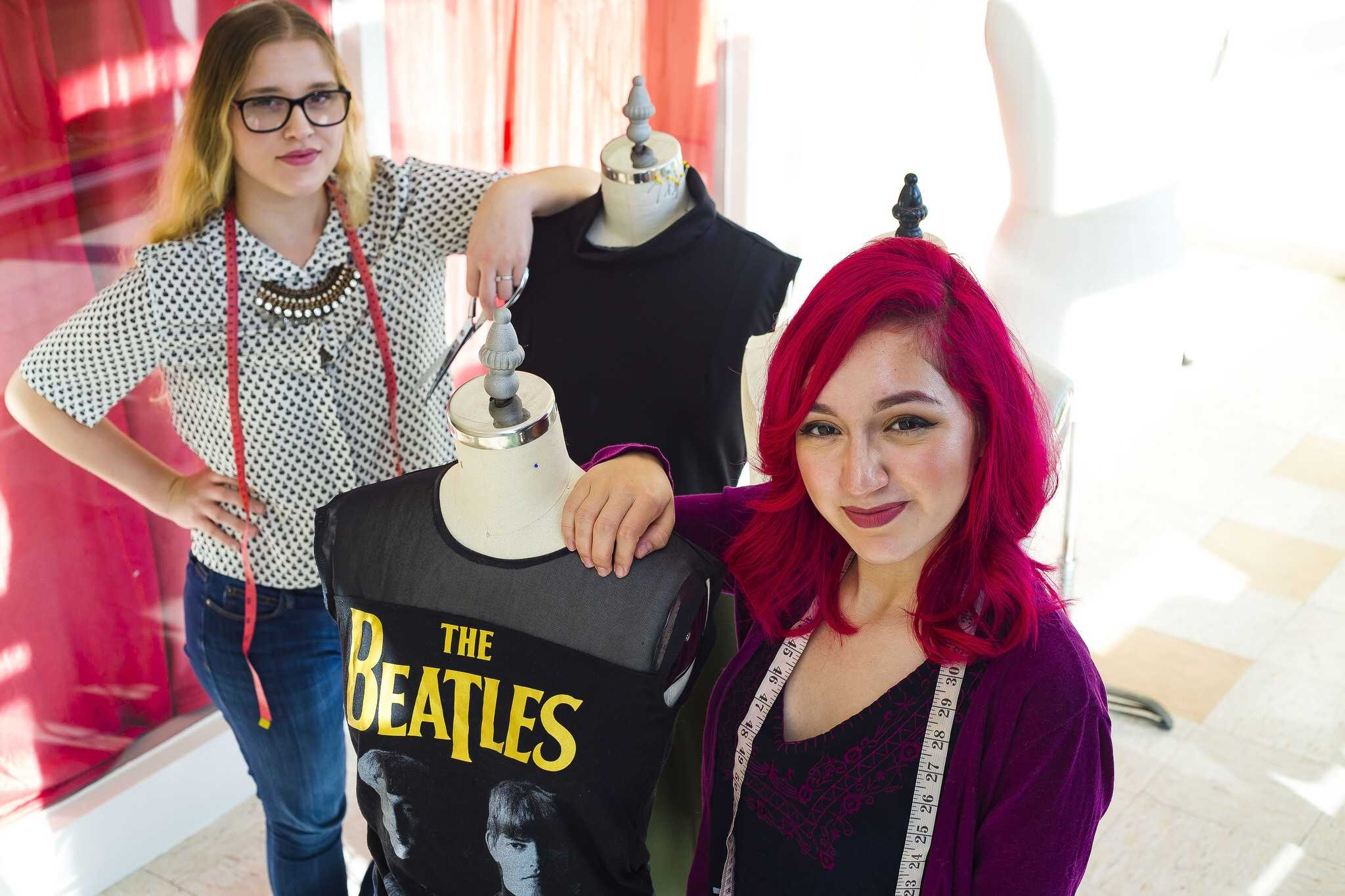 Interactive: SF State fashion students get ready for runway