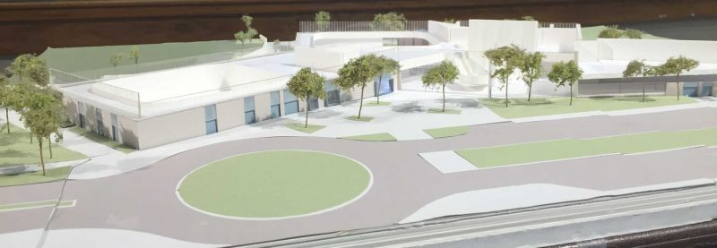 Sustainability of new wellness center highlighted at community meeting