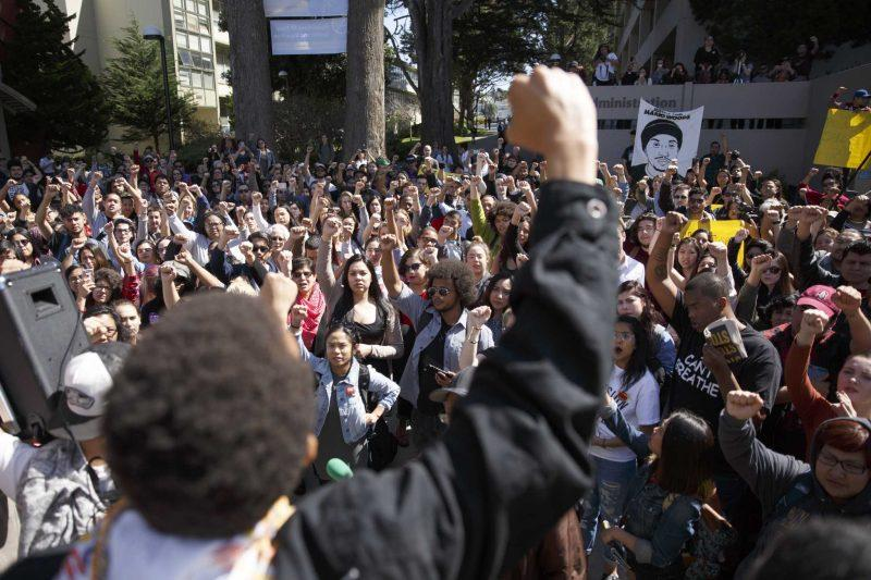 UPDATE: Provost denies request to sign list of student demands