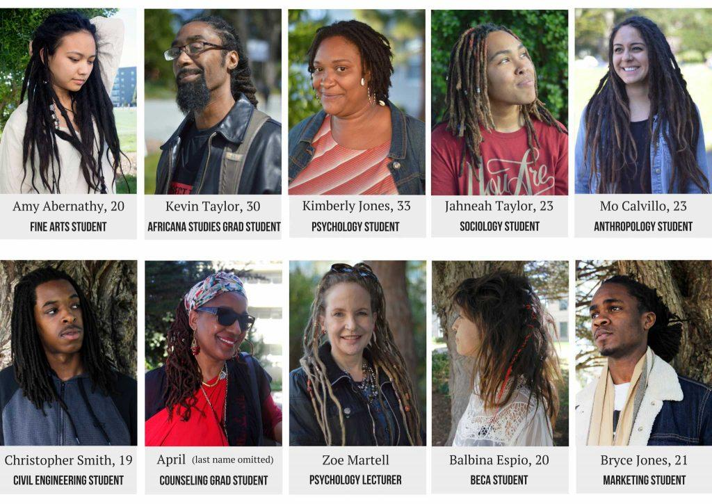 Interactive: SF State students and faculty share personal stories about their locs