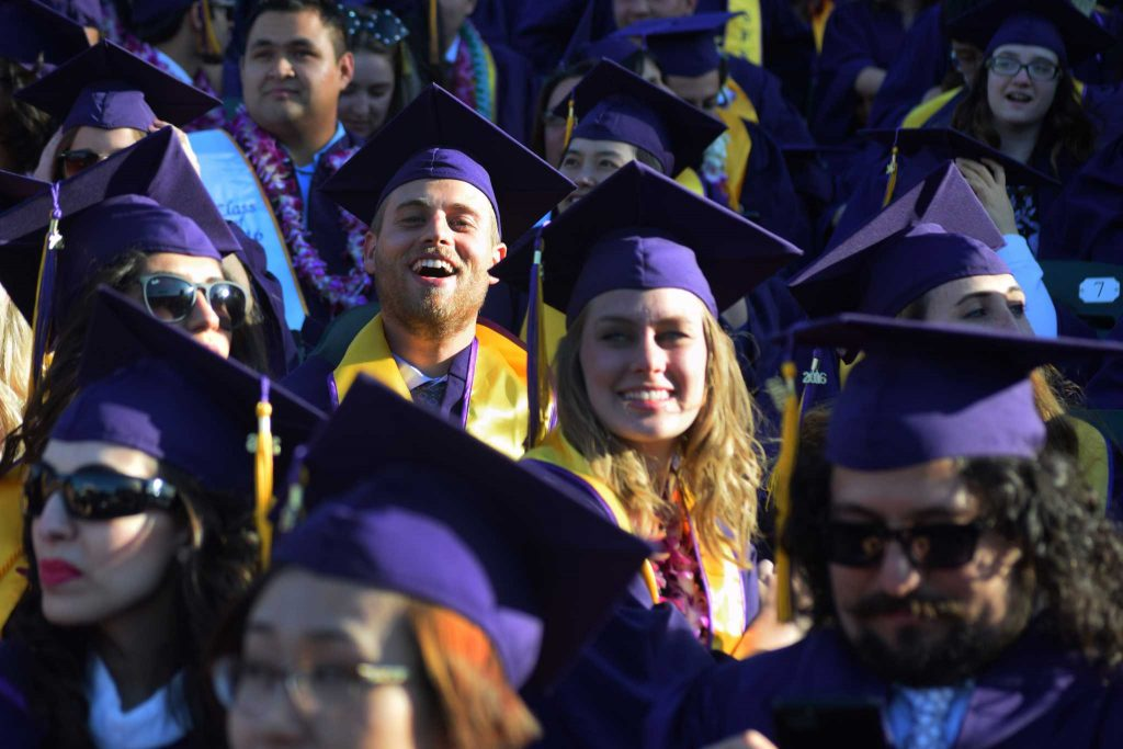Sunshine and words of advice illuminate 2016 Commencement at AT&T Park