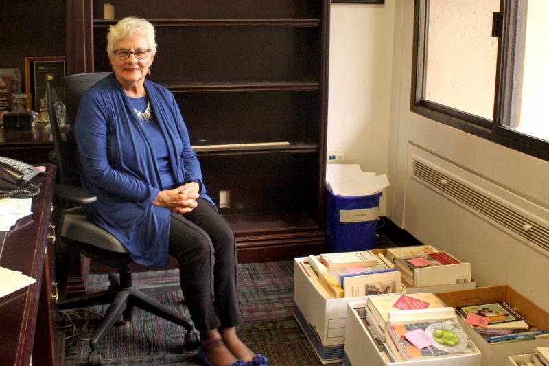 Current Provost and Vice President of Academic Affairs Sue Rosser sits in her office at SF State on Friday, Aug. 19, 2016