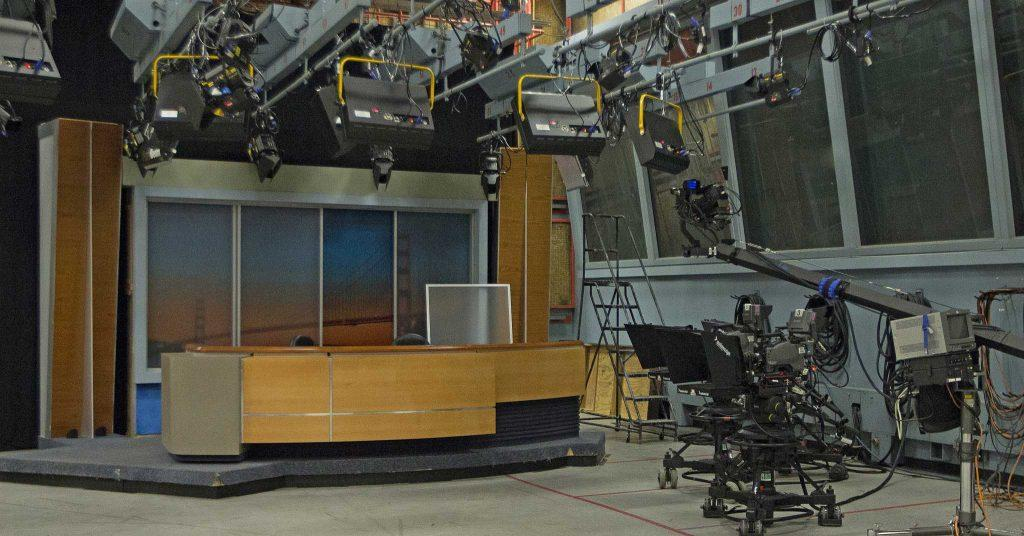 Newly donated gear to from ABC 7 News in Studio 1 of the Creative Arts Building on Tuesday, Aug. 30, 2016. The Broadcast and Electronic Communications Arts department has received a donation of gear from ABC 7 News.