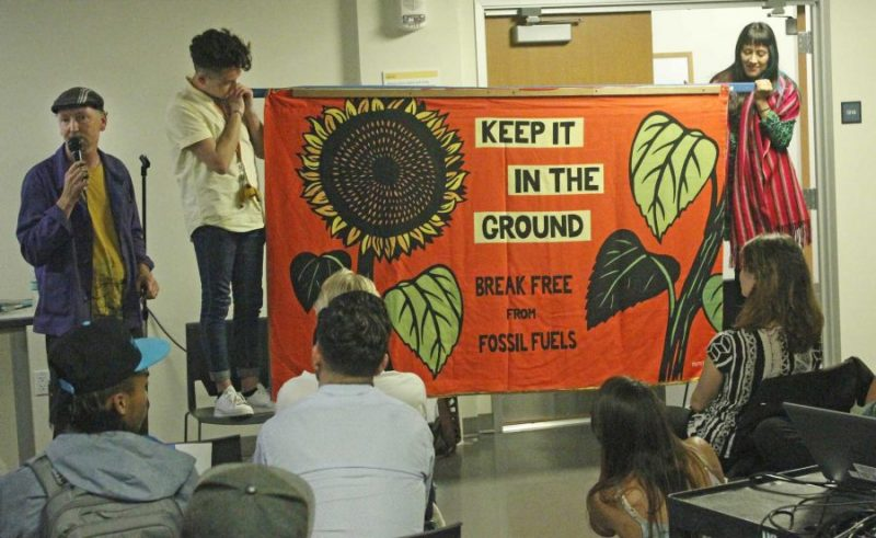Climate Justice Speaker Series teaches through art and music