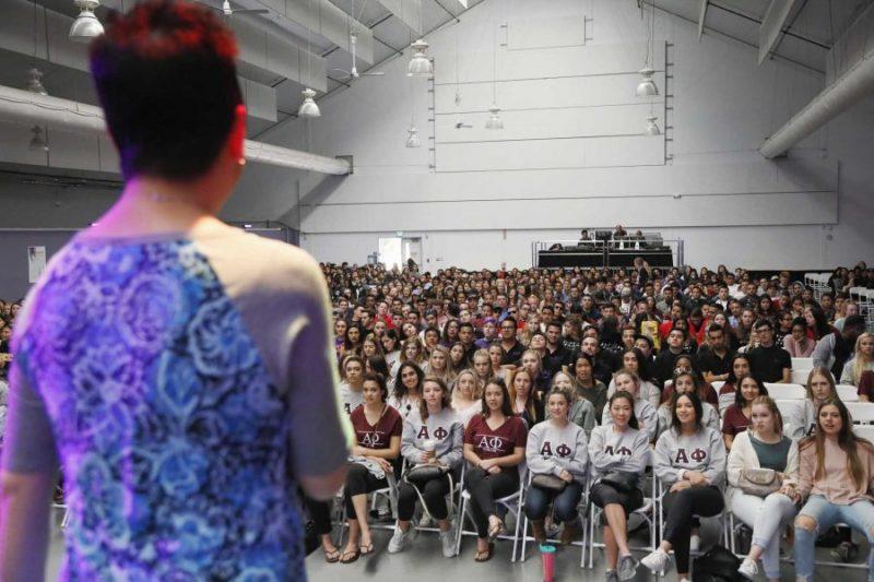 Second annual Greek Summit kicks off with Title IX training